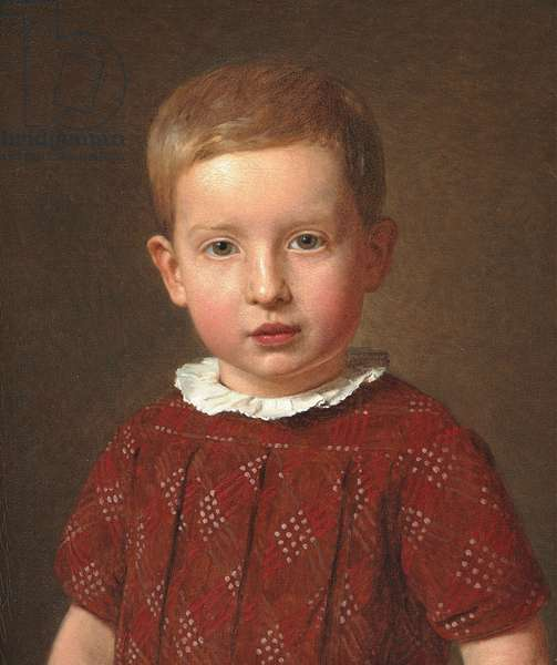 Johan Jacob Krohn as a child, 1846 (oil on canvas)