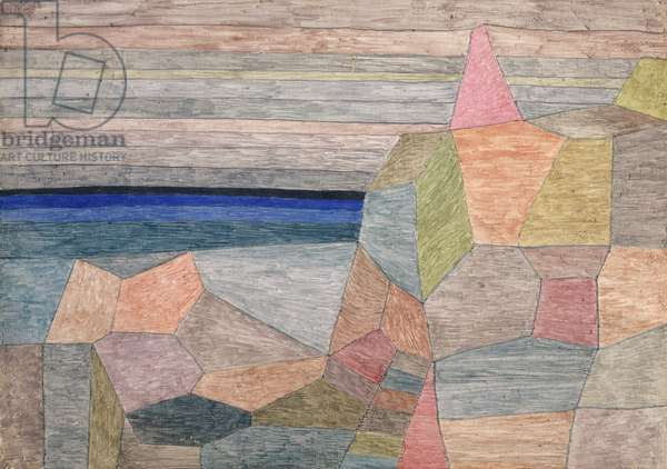 Promontorio Ph., 1933 (watercolour on plywood)