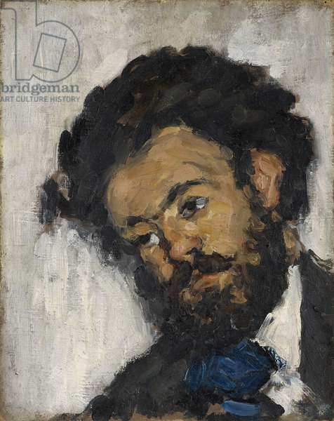 Portrait of Antoine-Fortuné Marion, c.1871 (oil on canvas)
