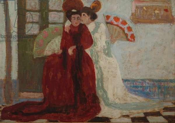 Confidence, 1921 (oil)