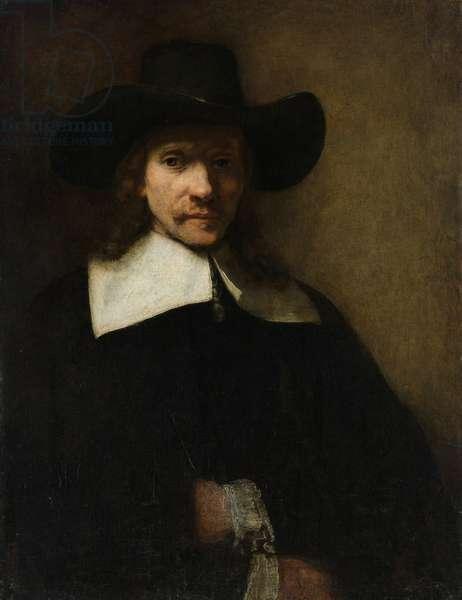 Portrait of a Man, c.1655-60 (oil on canvas)