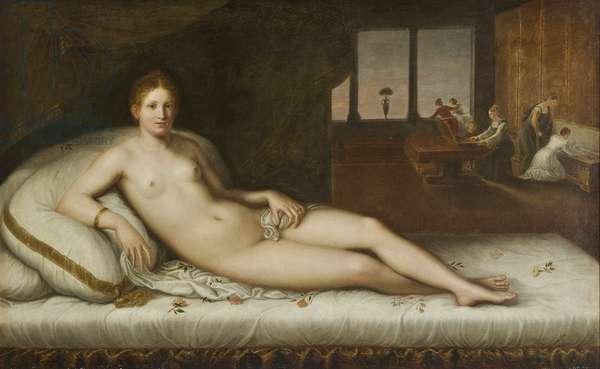 Reclining Venus (oil on canvas)