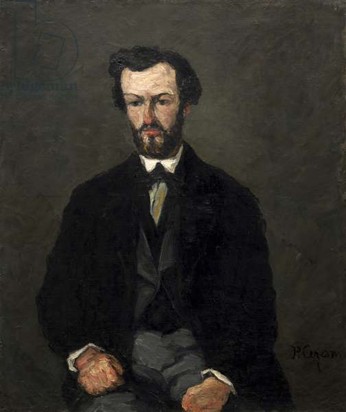 Antony Valabrègue, 1866 (oil on canvas)