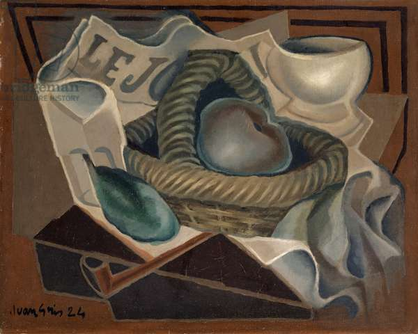 The Basket, 1924 (oil on canvas)