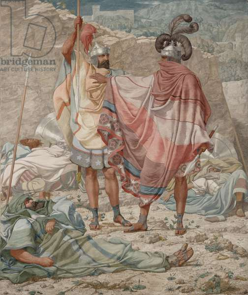 Mercy: David Spareth Saul's Life, 1854 (oil on canvas)