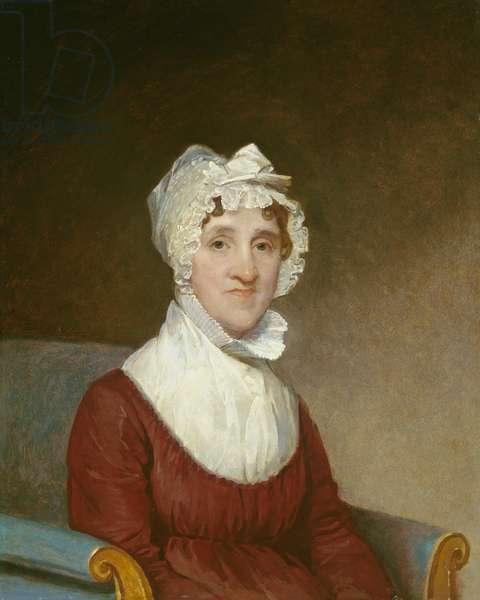 Sarah Homes Tappan (Mrs. Benjamin Tappan), 1814 (oil on wood)