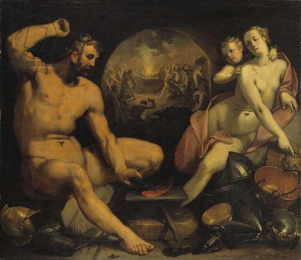 Venus and Vulcan, 1590 (oil on canvas)
