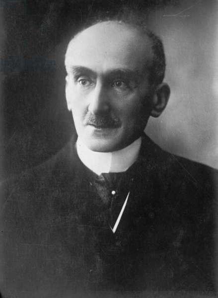 Henri Bergson, 1925 (b/w photo)