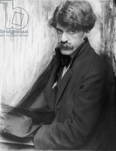 Alfred Stieglitz, 1902 (b/w photo)