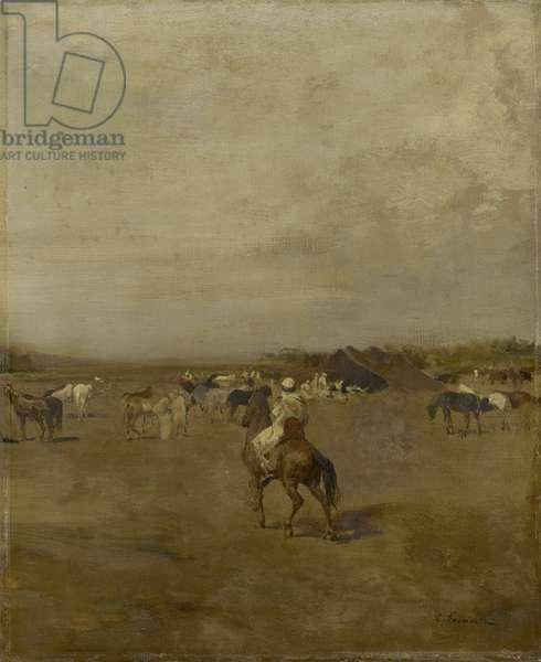 Arabian Encampment, c.1847 (oil on canvas)
