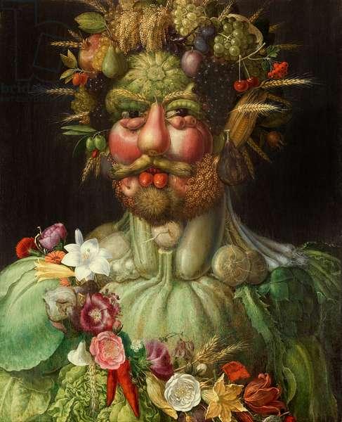 Vertumnus, 1591 (oil on panel)