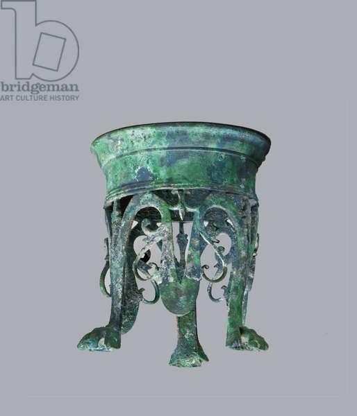 Bronze stand, 1st century A.D.