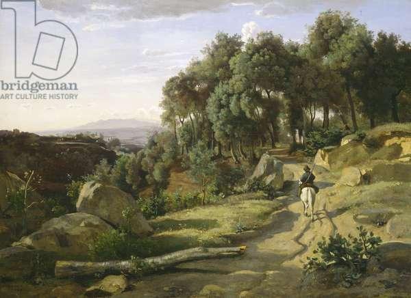 A View near Volterra, 1838 (oil on canvas)