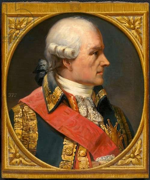 Jean Baptiste Donatien de Vimeur Rochambeau, (1725- 1807) (oil on canvas)
