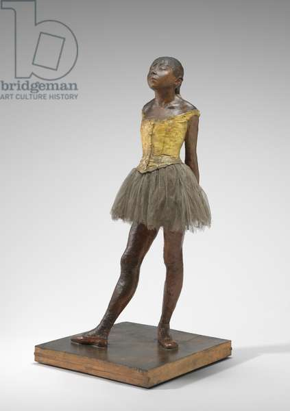 Little Dancer Aged Fourteen, c.1878-81 (painted plaster, fabric, metal armature, on plaster base)