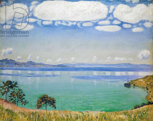Lake Geneva, Seen from Chexbres, 1905 (oil on canvas)