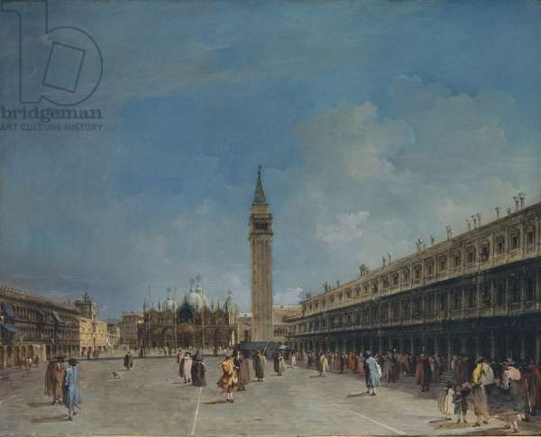 Piazza San Marco, 1760 (oil on canvas)