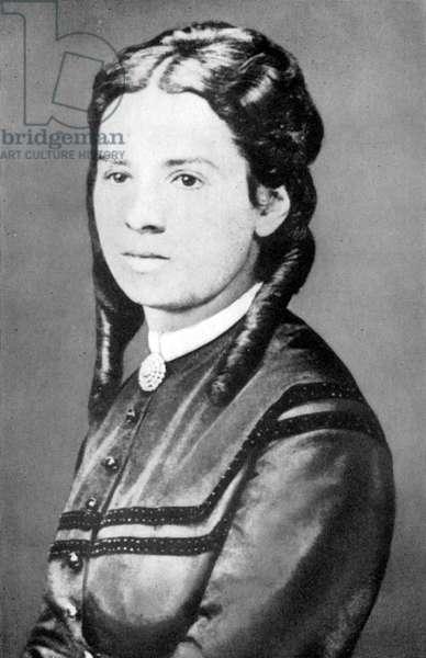 Jenny Marx, c.1868 (b/w photo)