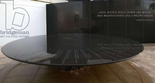 Civil Rights Memorial, Montgomery, Alabama (photo)