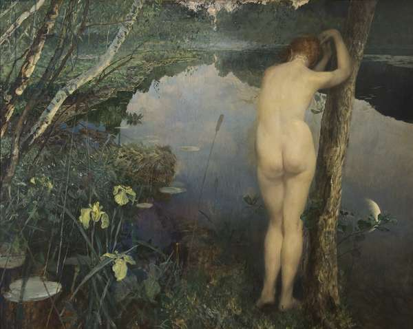 Nocturne, 1887 (oil on canvas)