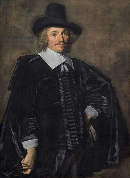 Portrait of a Gentleman, 1650-52 (oil on canvas)