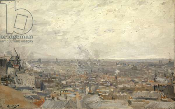 View from Montmartre, 1886 (oil on canvas)