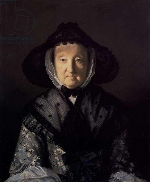 Mrs Pigott of Chetwynd, 1761 (oil on canvas)