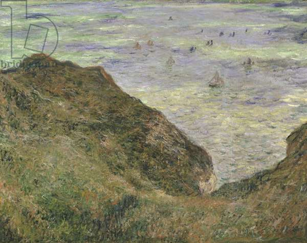 View over the Sea, 1882 (oil on canvas)