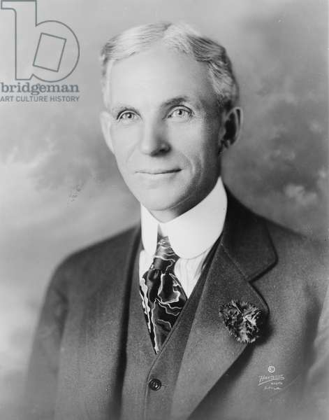 Henry Ford, 1919 (b/w photo)