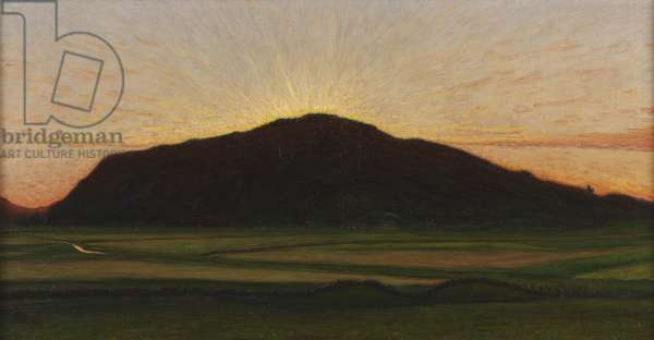 Afterglow, 1909 (oil on canvas)
