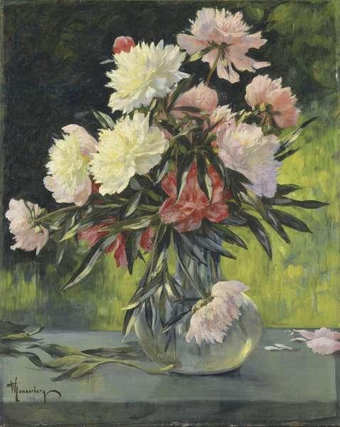 Peonies, 1898 (oil on canvas)