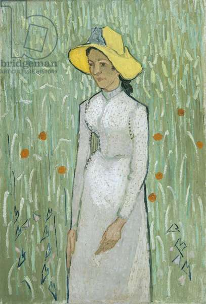 Girl in White, 1890 (oil on canvas)