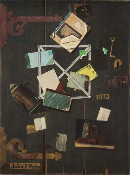 HSP's Rack Picture, c.1900 (oil on canvas)