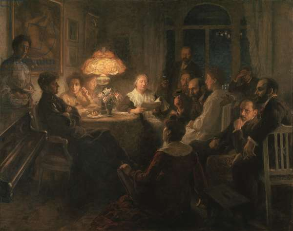 Friends, 1900-7 (oil on canvas)