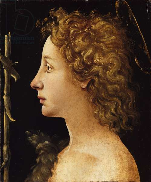 The Young Saint John the Baptist (tempera and oil on wood)