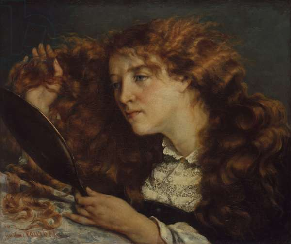 Jo, La Belle Irlandaise, 1865-66 (oil on canvas)
