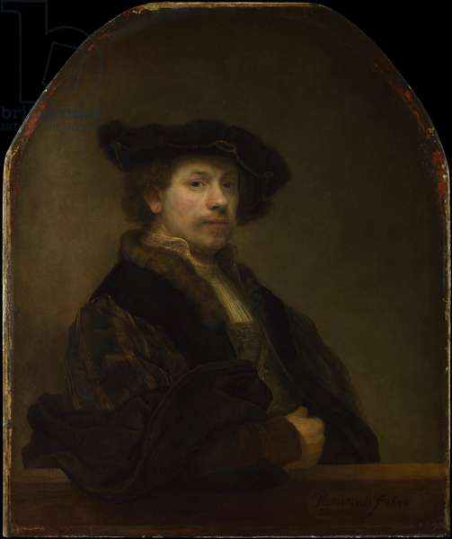 Self Portrait at the Age of 34, 1640 (oil on canvas)