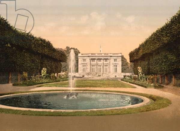 Petit Trianon, Versailles, c.1890-1900 (photochrom)