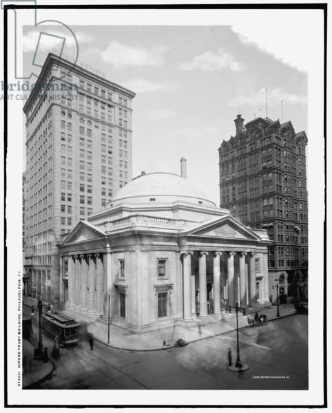 Girard Trust Building, Philadelphia, Pa, c.1905-20 (b/w photo)