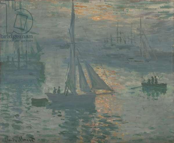 Sunrise (Marine), 1873 (oil on canvas)