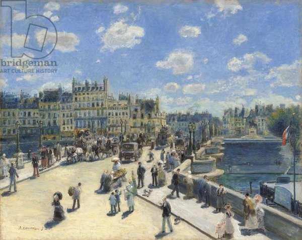 Pont Neuf, Paris, 1872 (oil on canvas)