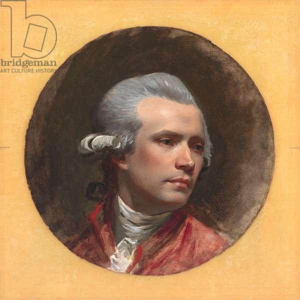 Self Portrait, c.1780-84 (oil on canvas)