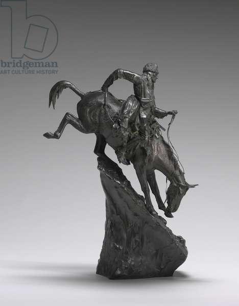 The Mountain Man, 1903 (bronze)