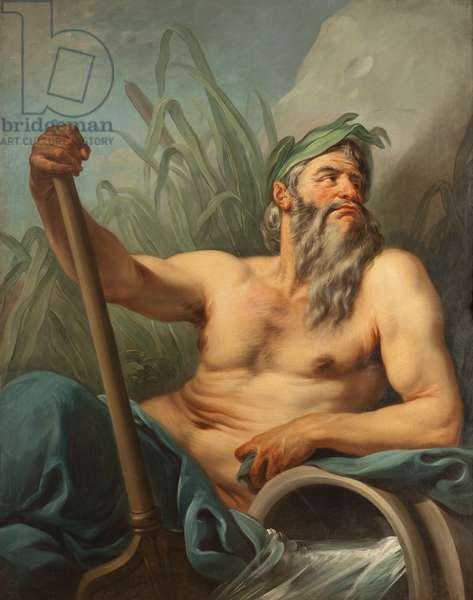 River God, c.1735-65 (oil on canvas)