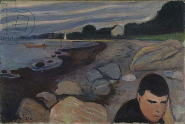 Melancholy, 1892 (oil on canvas)
