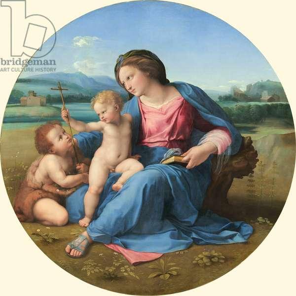 The Alba Madonna, c. 1510 (oil on panel)