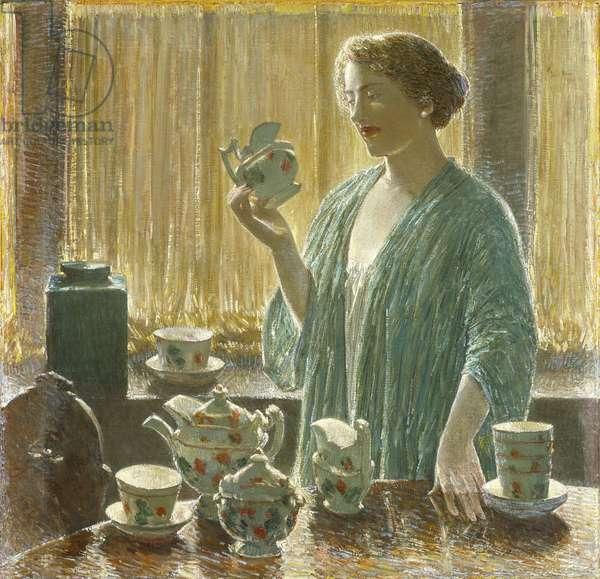 Strawberry Tea Set, 1912 (oil on canvas)