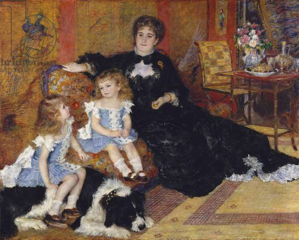 Madame Georges Charpentier and her Children, 1878 (oil on canvas)