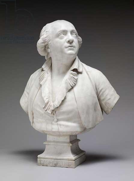 Giuseppe Balsamo, Comte di Cagliostro, 1786 (marble)
