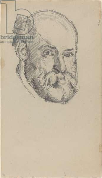 Self-Portait, c.1880-2 (graphite on wove paper)